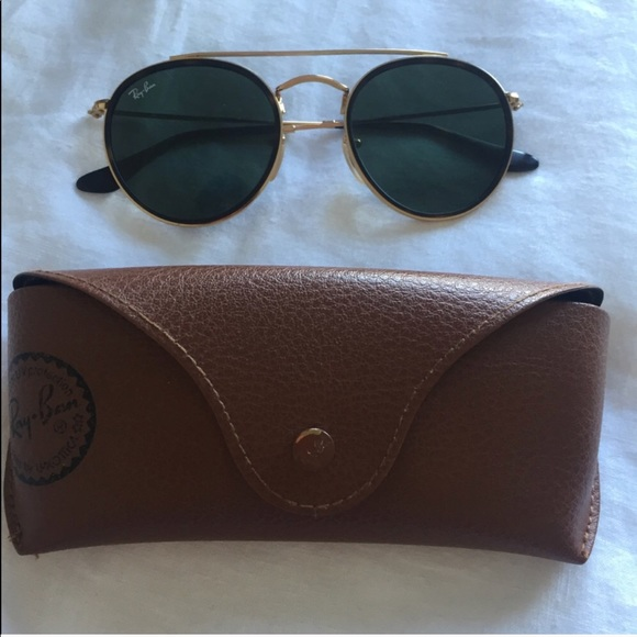 fcdf03e0b0 Ray Ban Round Double Bridge Sunglasses RB-3647-N. M 5af3797c2ae12fa35b019579